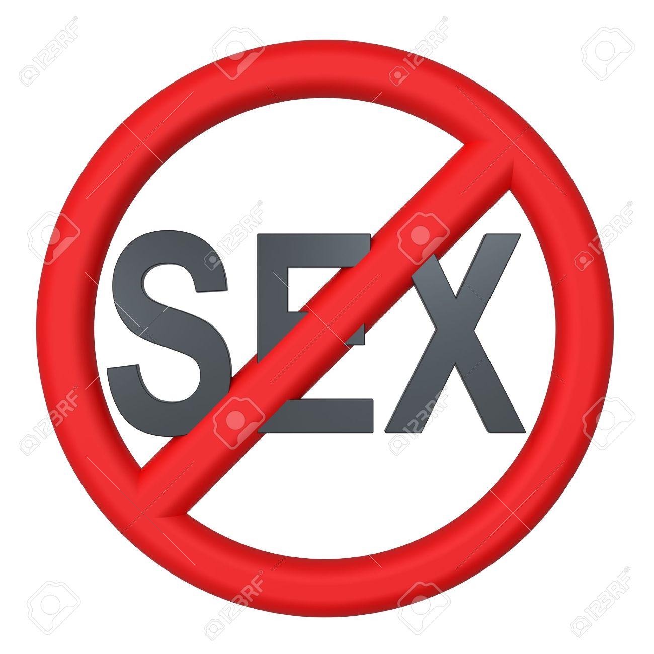 No sex sign