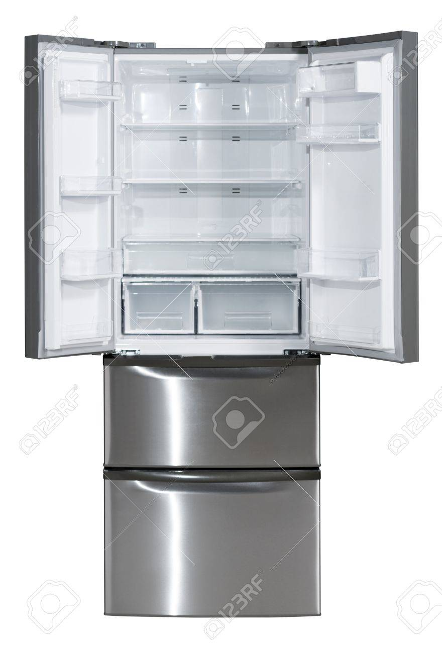Offene Side By Side Kühlschrank Mit Ausziehbarer