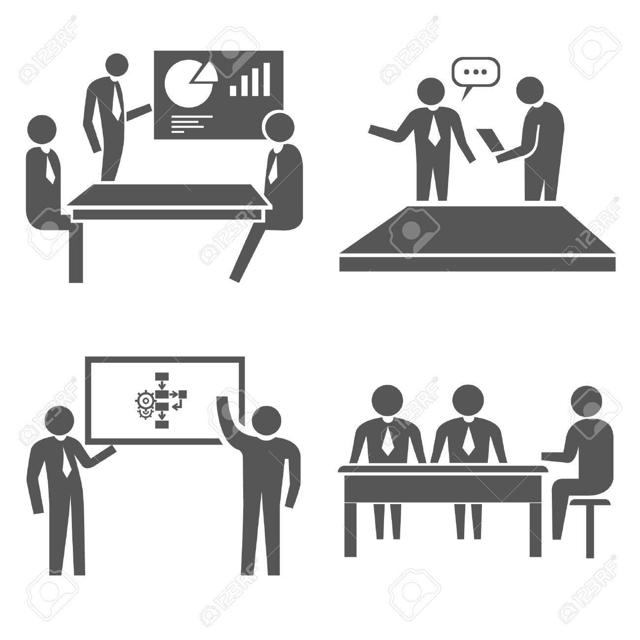 office concept set Stock Vector - 21506350