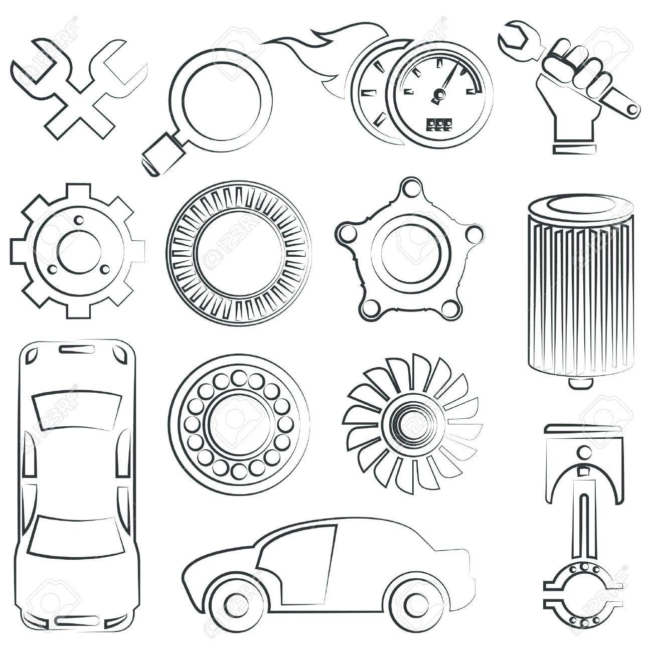 Delighted car parts drawing images electrical circuit diagram car parts drawing dolgular pooptronica