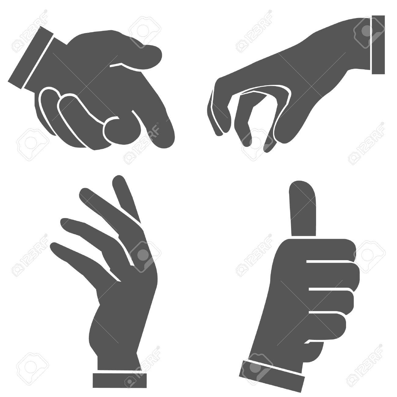 hand set, hand sign Stock Vector - 22786199