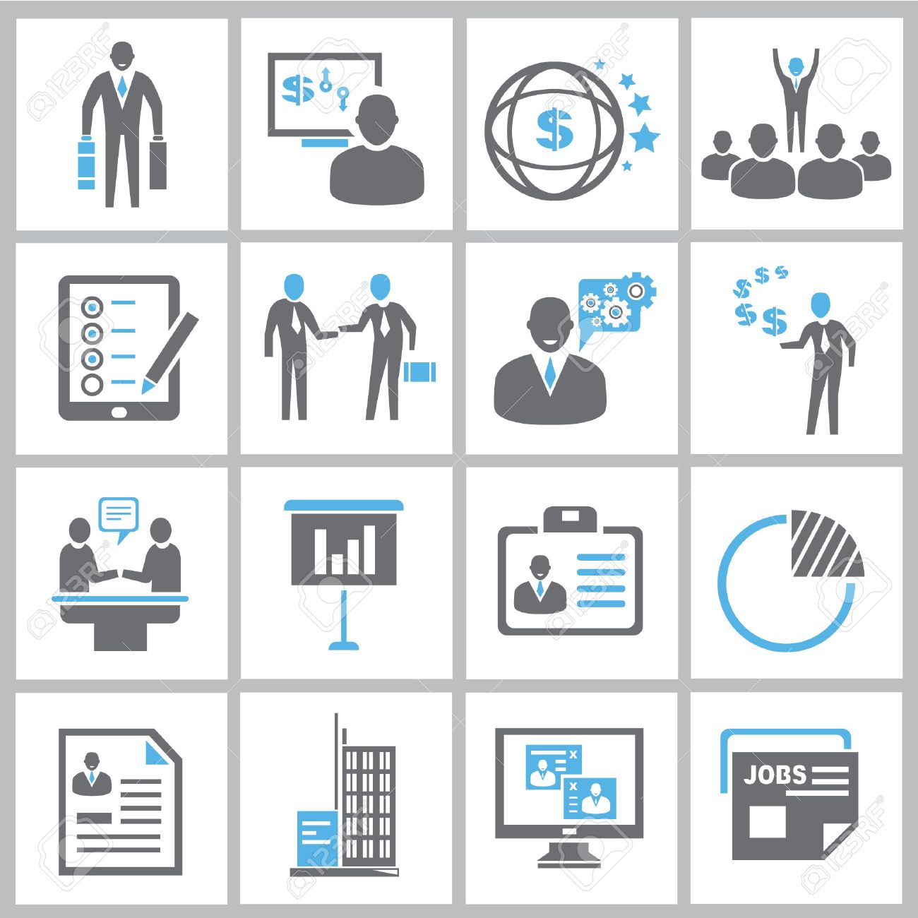 business management icons business solution icons royalty vector business management icons business solution icons