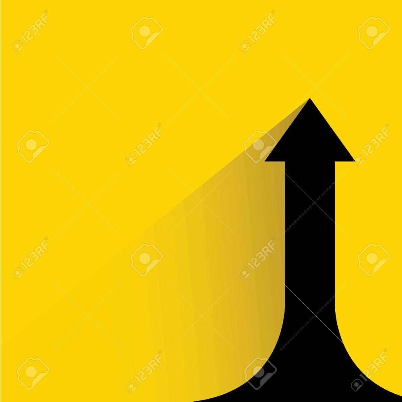growth progress arrow chart - 37102404