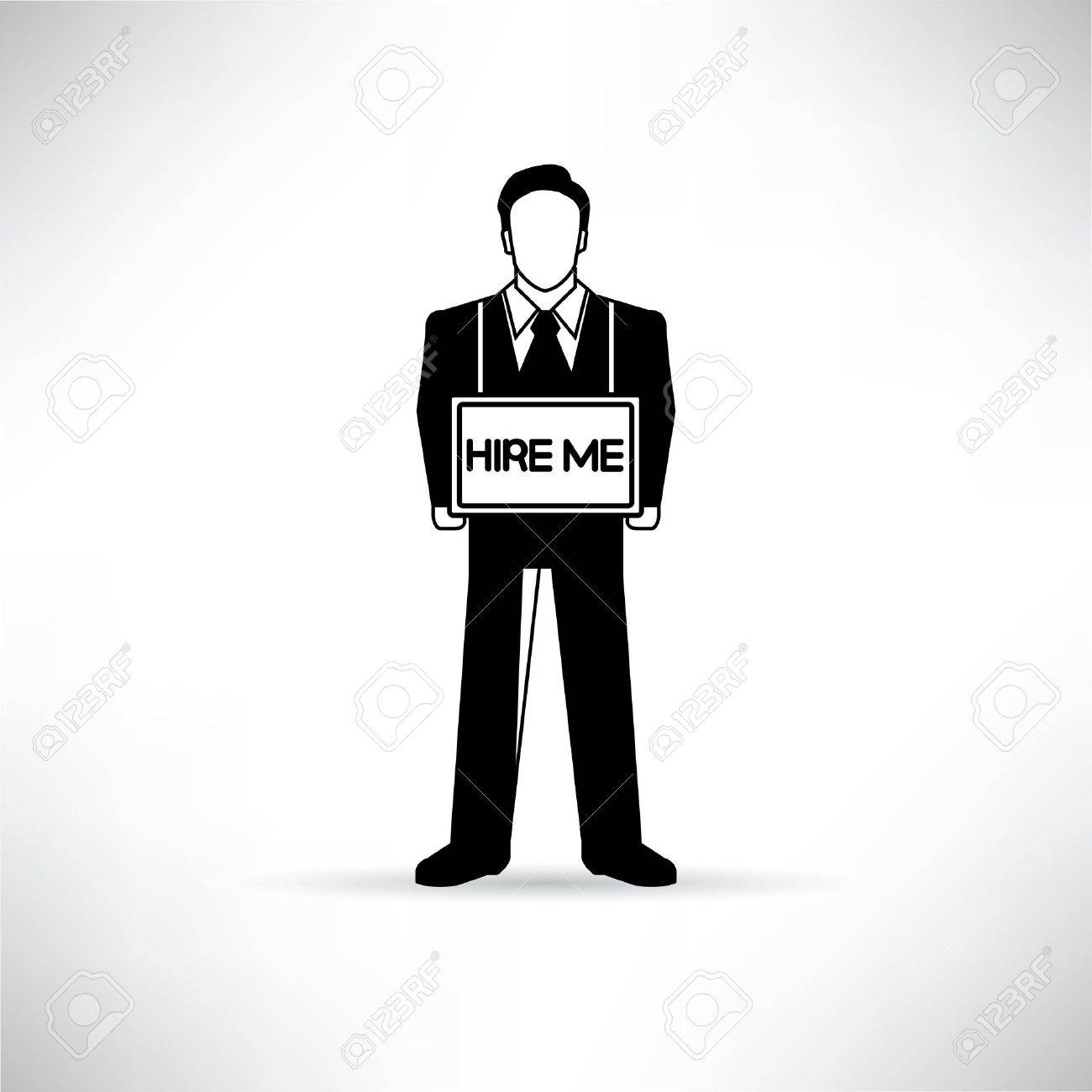 job seeking stock vector illustration and royalty job job seeking job seeker
