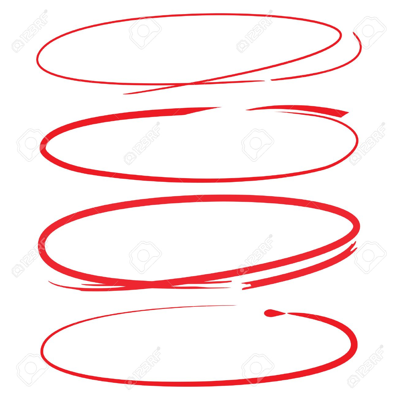 red markers, red circles - 53360717