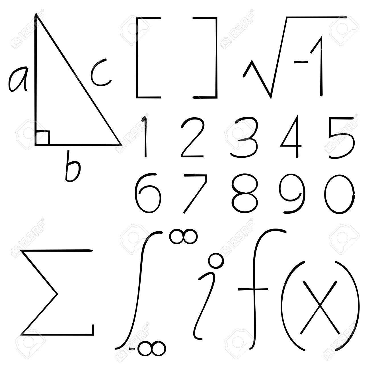 Math symbols royalty free cliparts vectors and stock illustration math symbols stock vector 71317658 buycottarizona Image collections