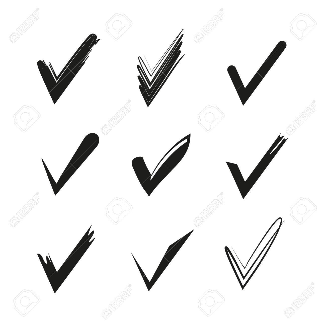 Check Mark Symbols Royalty Free Cliparts Vectors And Stock