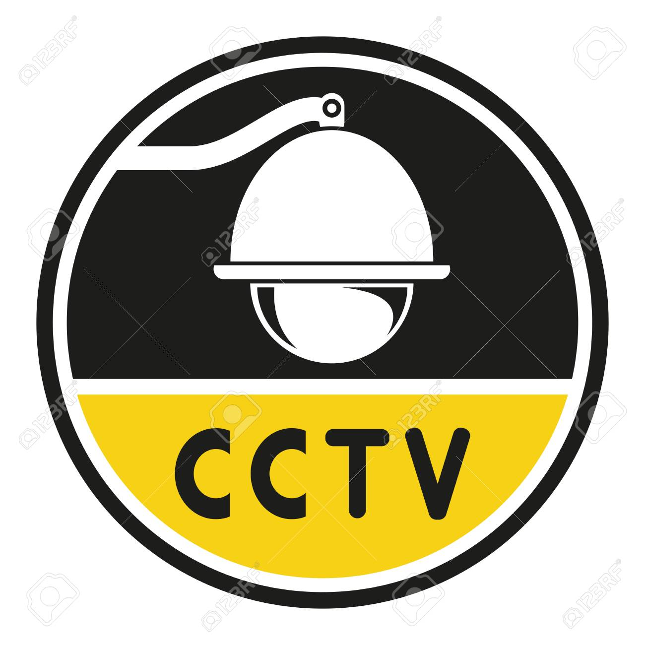 Security Camera Symbol Cctv Royalty Free Cliparts Vectors And