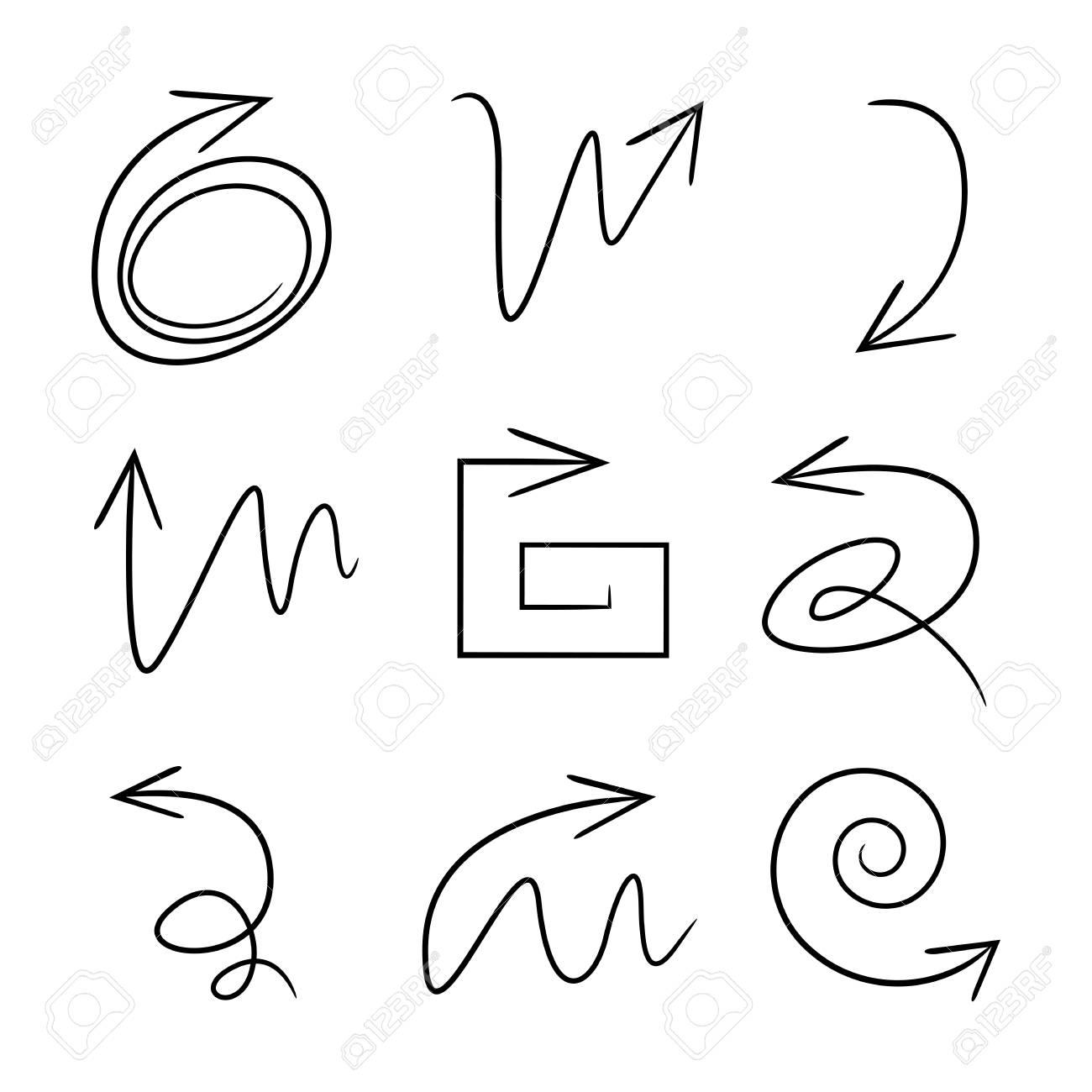 sketch arrow icons - 122082092