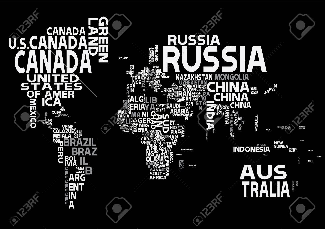 World map with white letters of english alphabet royalty free world map with white letters of english alphabet stock vector 52196392 gumiabroncs Image collections