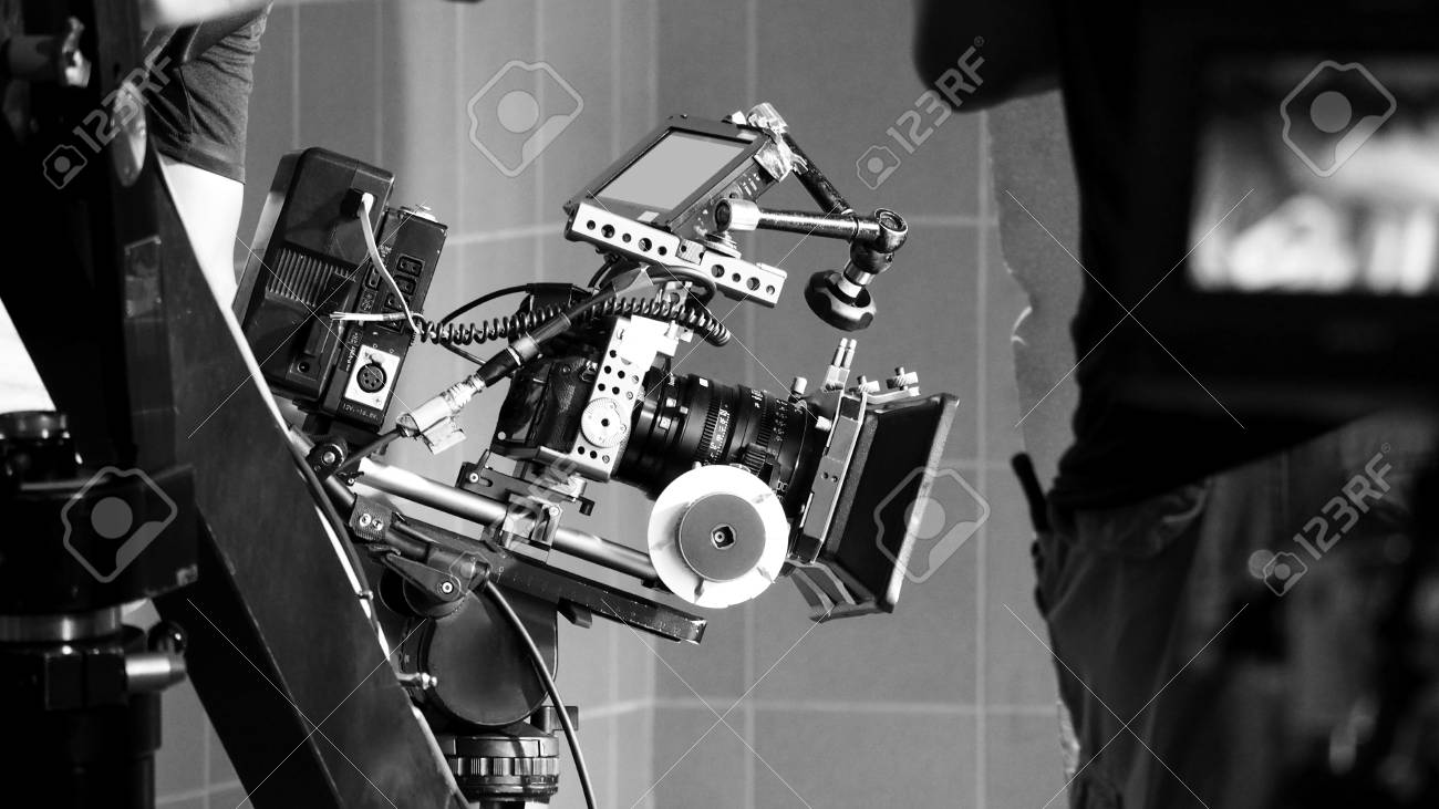 Back Angle View Of High Definition Digital Video Camera Which Stock Photo Picture And Royalty Free Image Image 106379952
