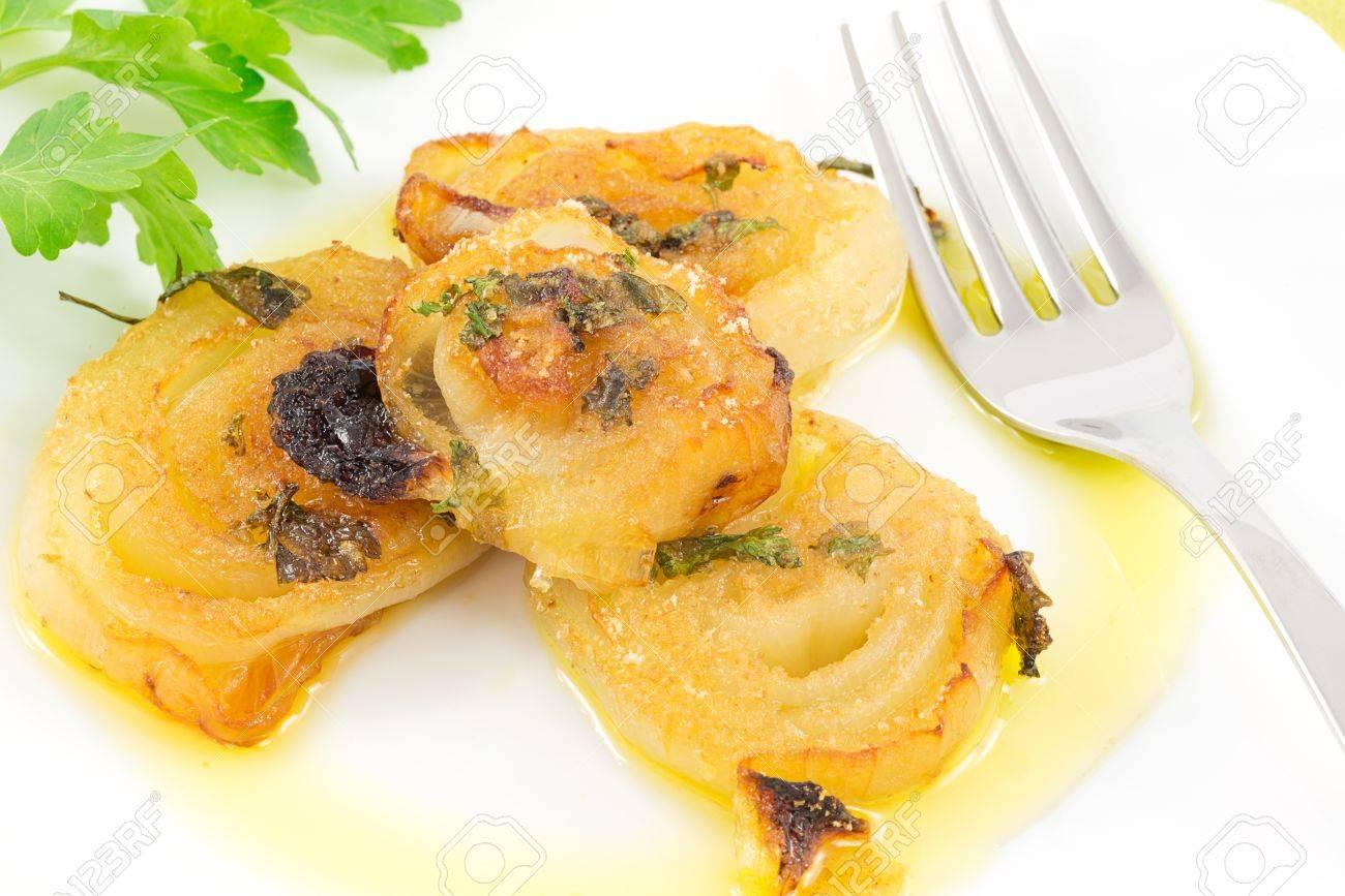 onions gratin Stock Photo - 17183754