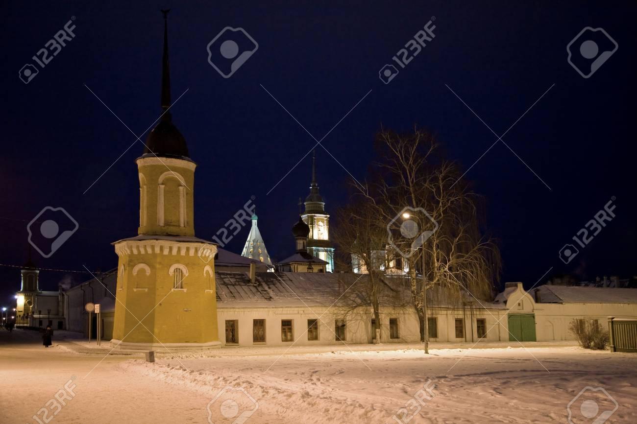 Kremlin is in town Kolomna Stock Photo - 6060437