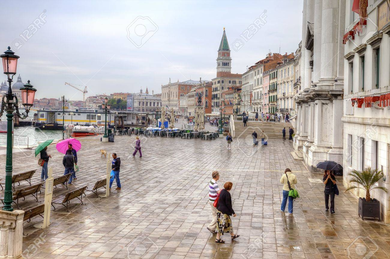 Riva degli Schiavoni. Embankment. Venice Stock Photo - 16818034