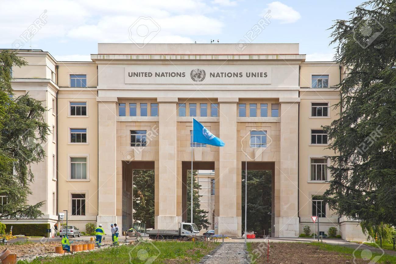 Suisse genève mai palais des nations le bureau de