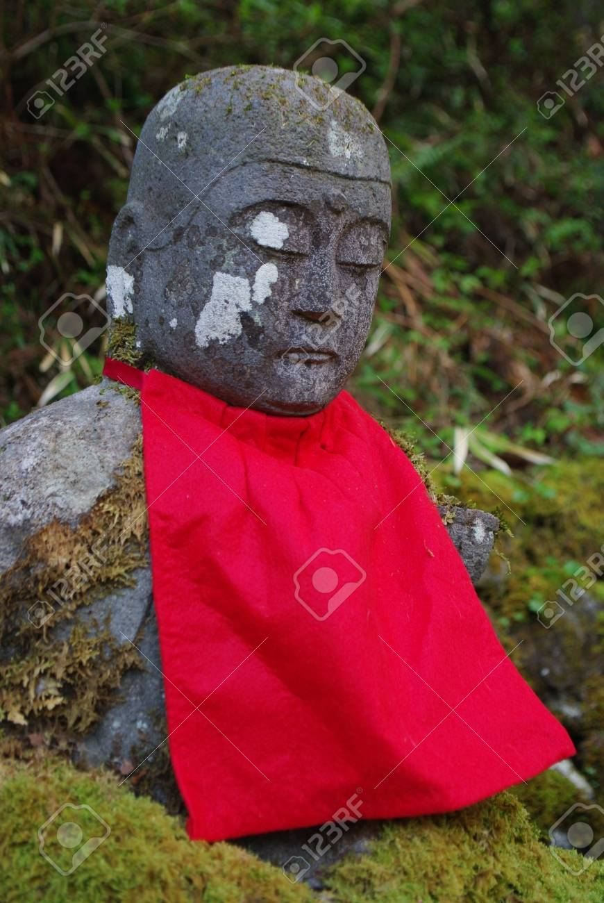 Stone Buddha image in Nikko Stock Photo - 19653422