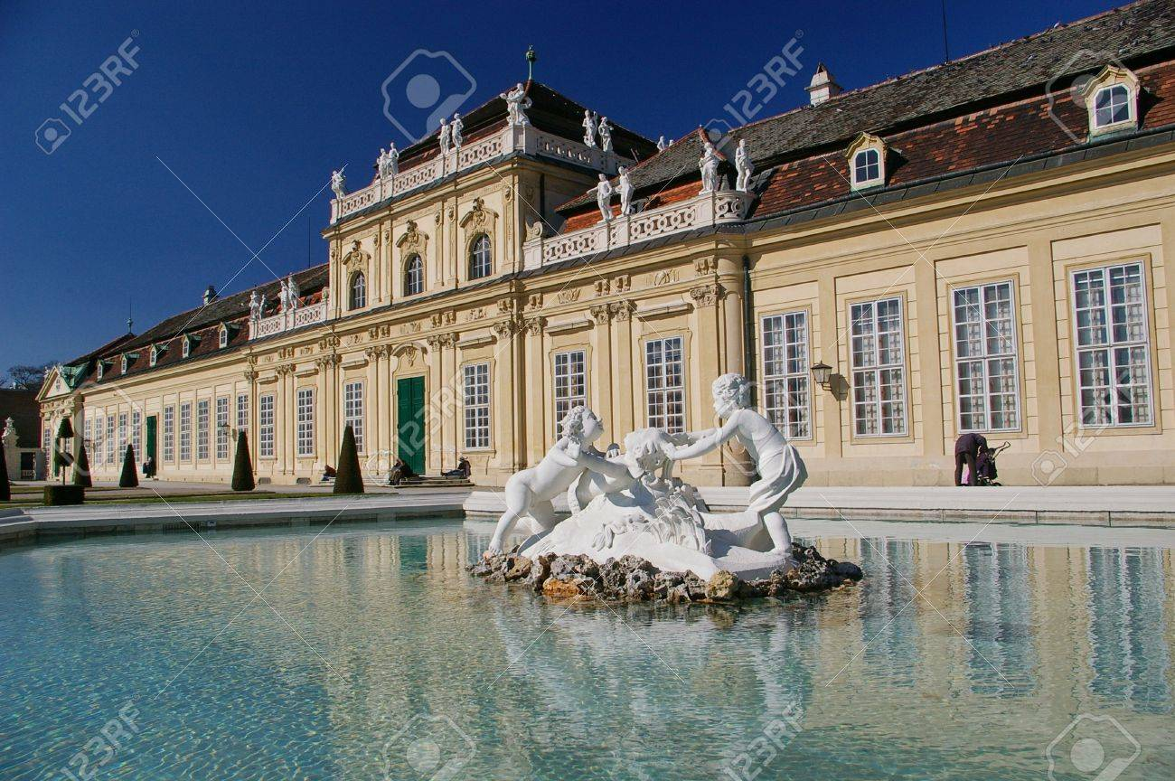 Lower Belvedere, Vienna Stock Photo - 19860434