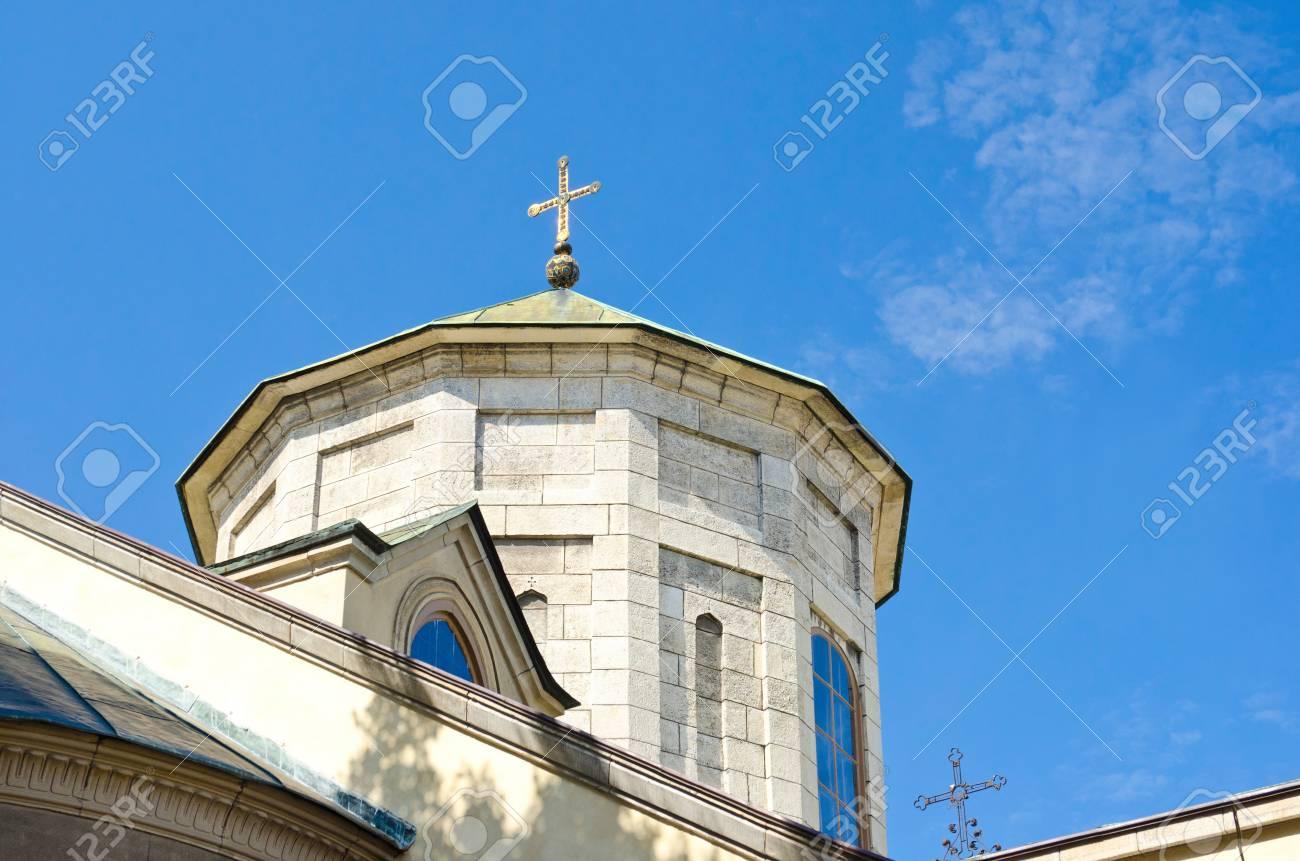 Armenian church in Lviv   Ukraine Stock Photo - 16138523