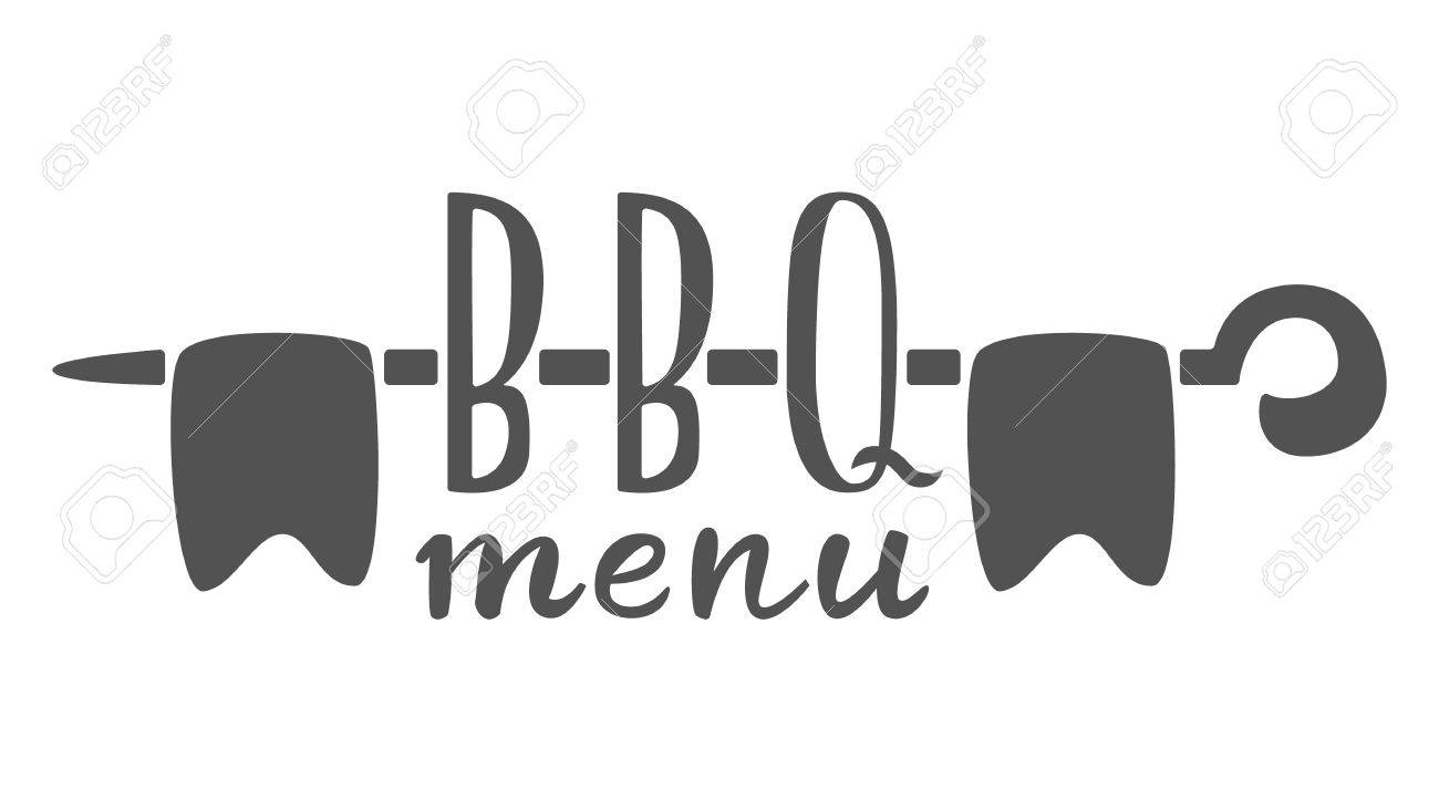Barbecue Menu Label, Logo And Emblem Vector Templates Isolated ...