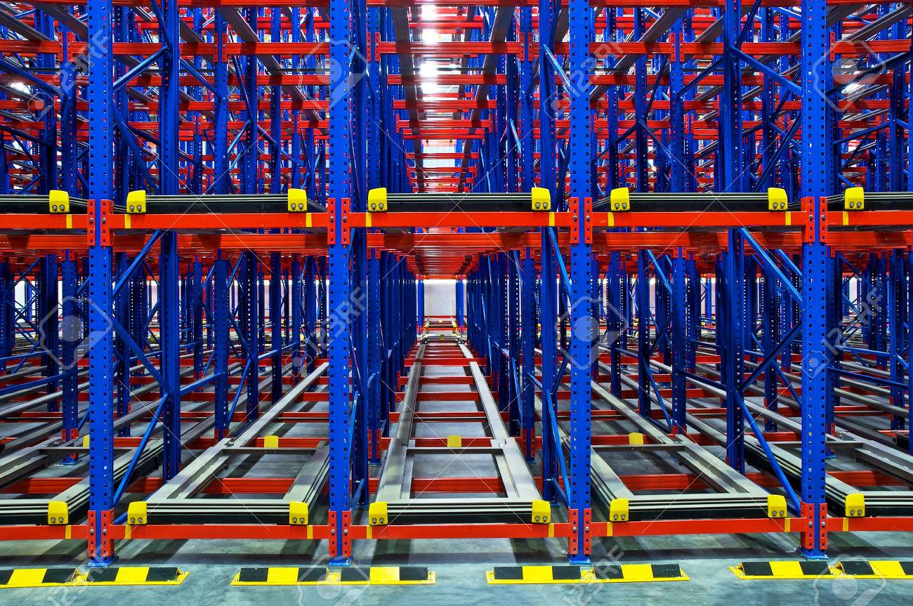 Pallet racking system for warehouse storage metal shelving distribution