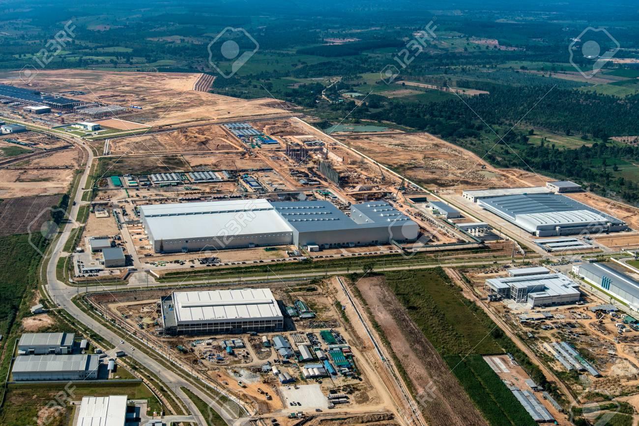 Land Development Industrial Estate Construction structure growth - 77875832