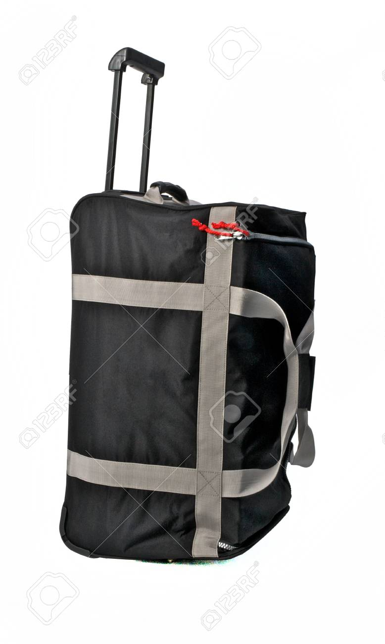Travel Bag Gray Color Large on White background - 79853198