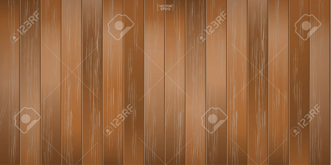 Wood pattern and texture for background. Vector illustration. - 155901686
