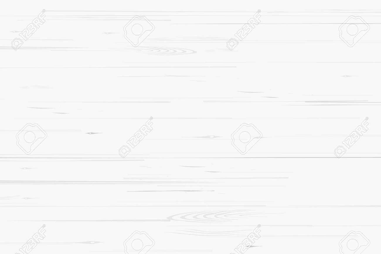 White wood pattern and texture for background. Vector illustration. - 156106483