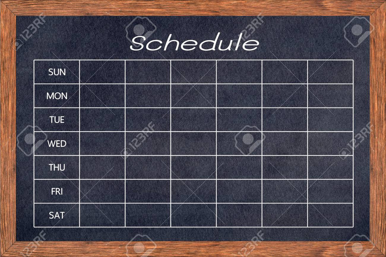 Programma attività lavagna per casa, cucina e classe, agenda agenda agenda  agenda agenda, pronto per il tuo messaggio o disegno grafico. (Percorso di  ...