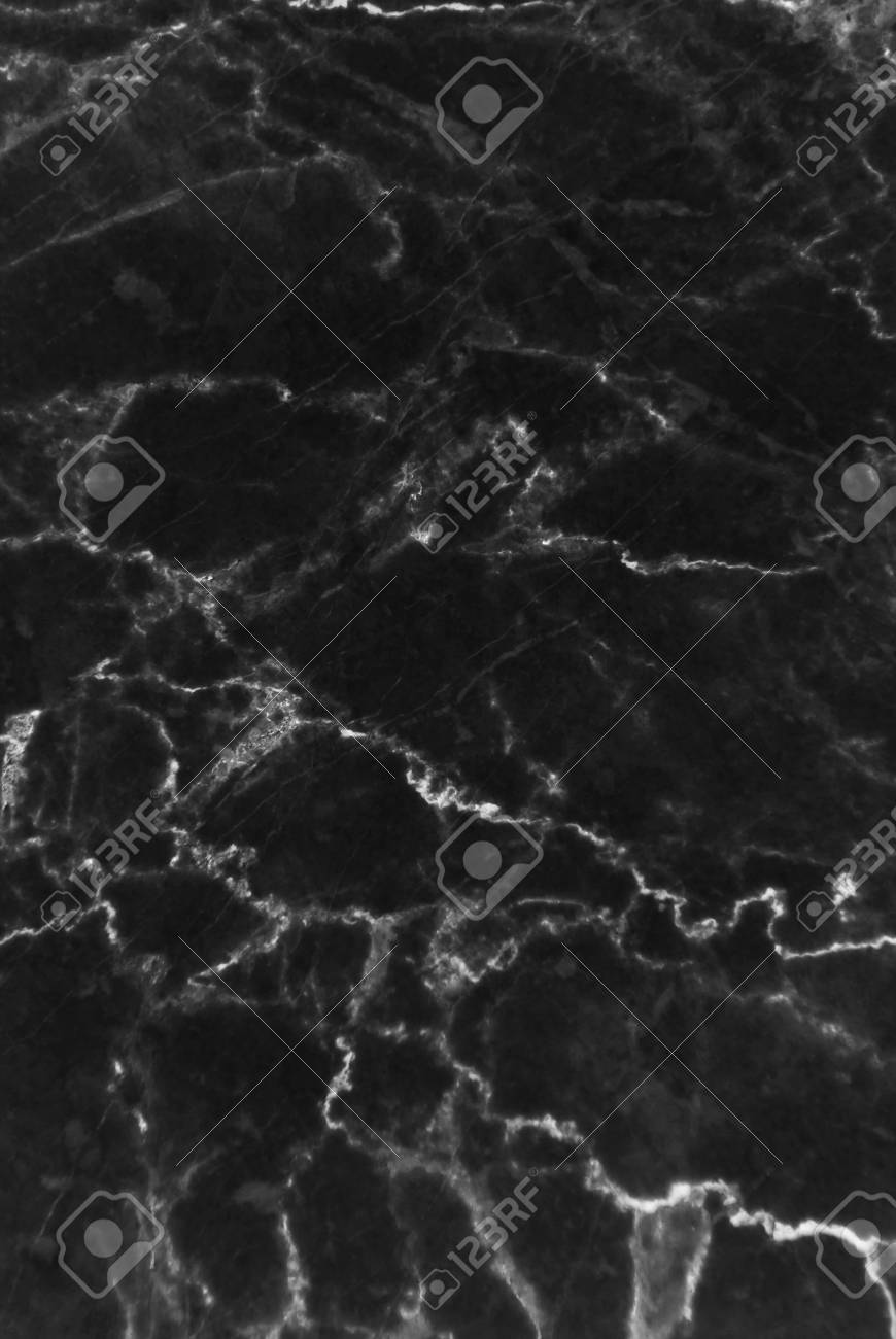 Immagini Stock Struttura In Marmo Nero Con Molte Vene Contrastanti