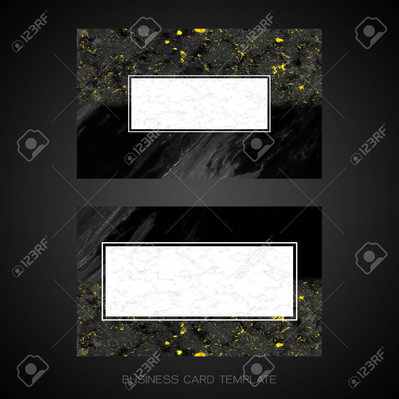 Modern business card layout template black and golden marble modern business card layout template black and golden marble background for luxury design clipping fbccfo Gallery