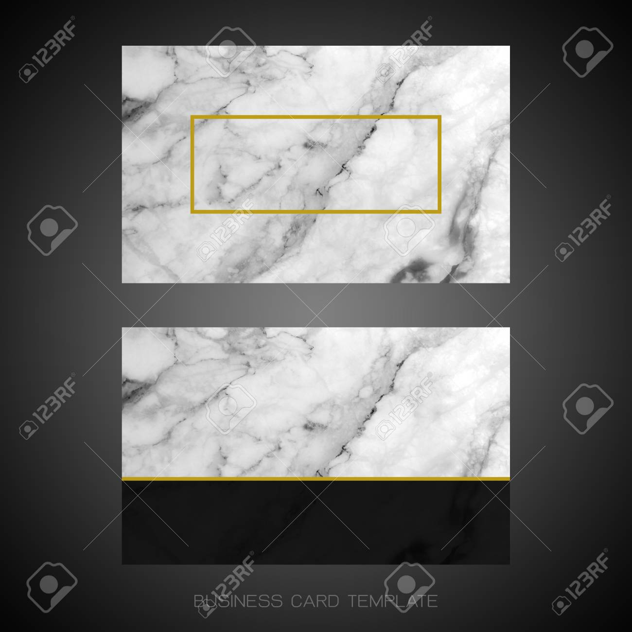 Modern business card layout template black and white marble stock modern business card layout template black and white marble texture background for luxury design fbccfo Images