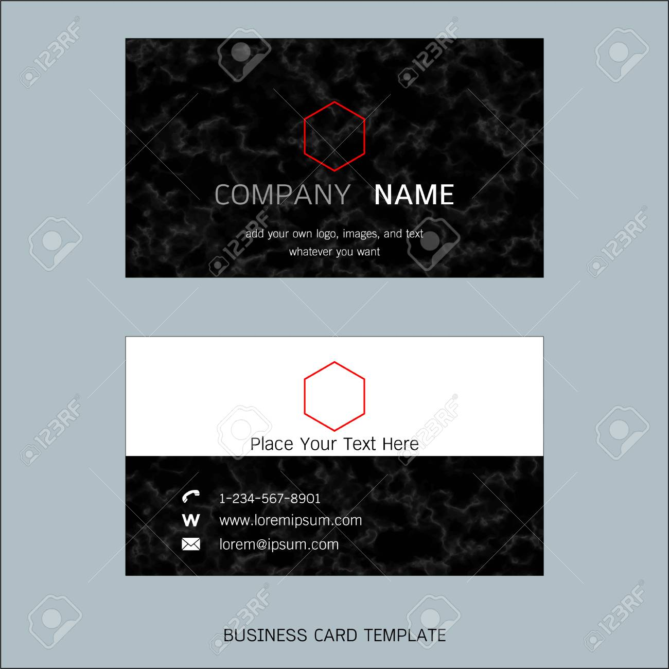 Modern designer business card layout templates marble texture modern designer business card layout templates marble texture background easy to use by print cheaphphosting Choice Image