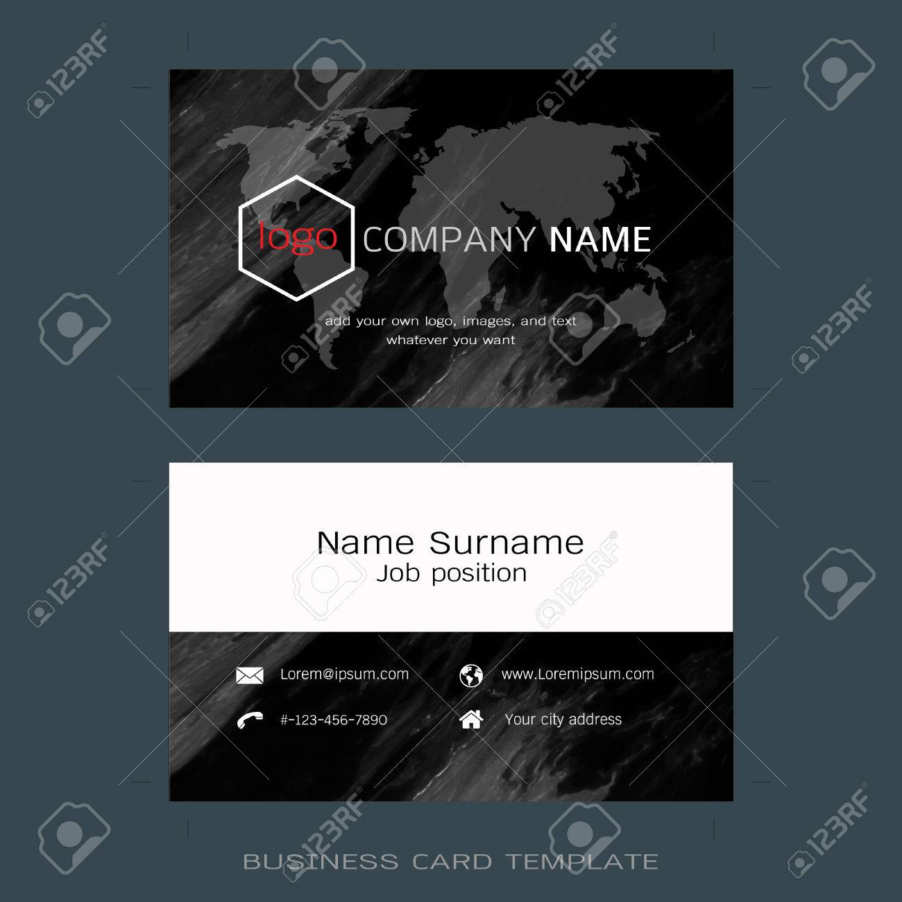 Modern designer business card layout templates marble texture imagens modern designer business card layout templates marble texture background easy to use by print a special offer or add your own logo images reheart Gallery