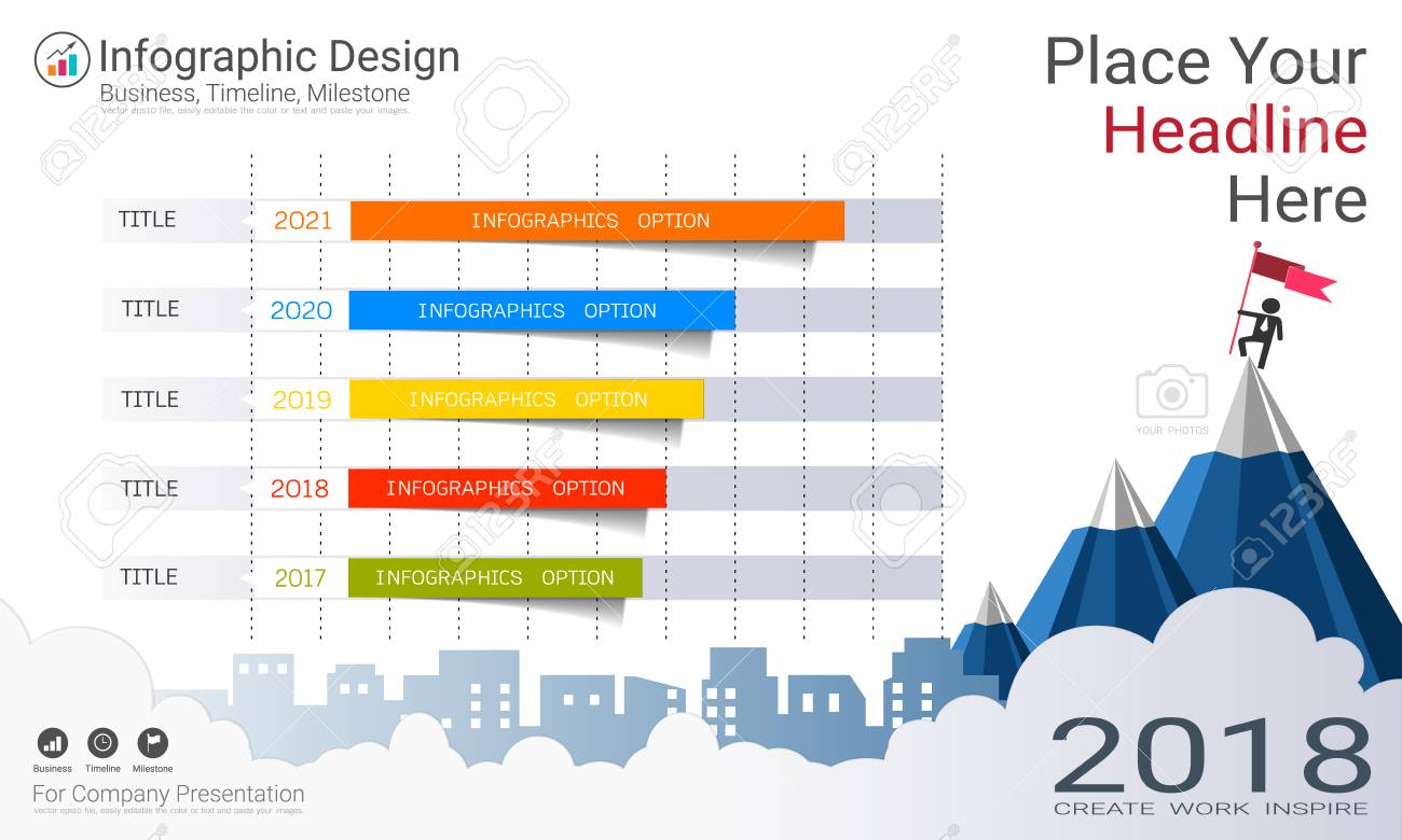 business bar graph infographics template. royalty free cliparts