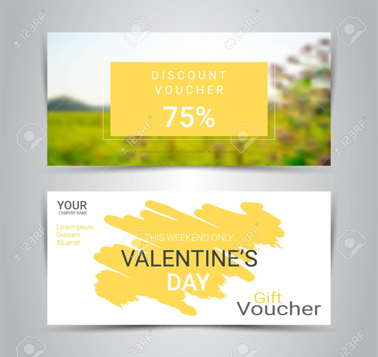 gift certificates and vouchers discount coupon or banner web