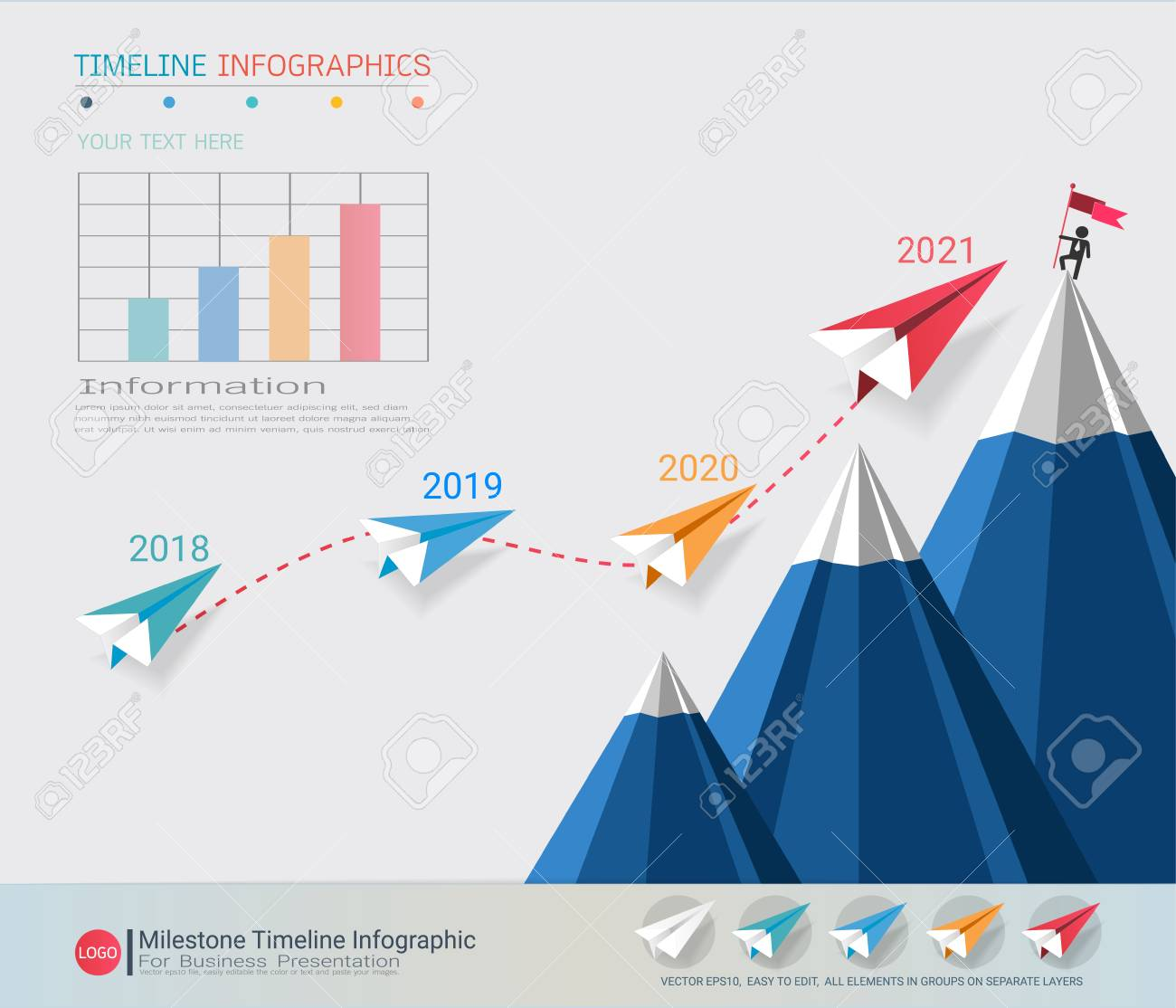 Milestone timeline infographic design road map or strategic milestone timeline infographic design road map or strategic plan to define company values can gumiabroncs Images