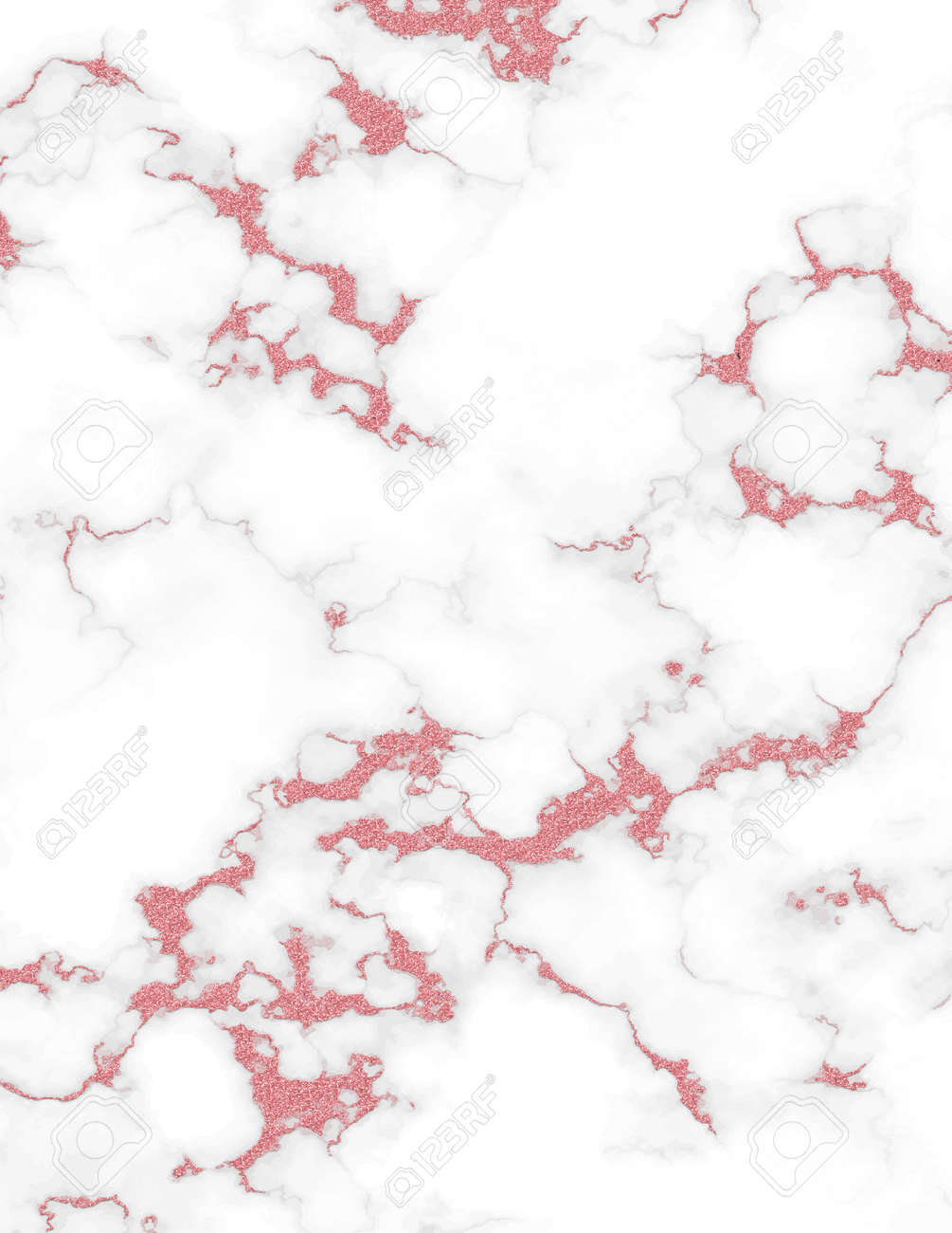 Rose gold white marble and glitter texture backgrounds. - 169697616