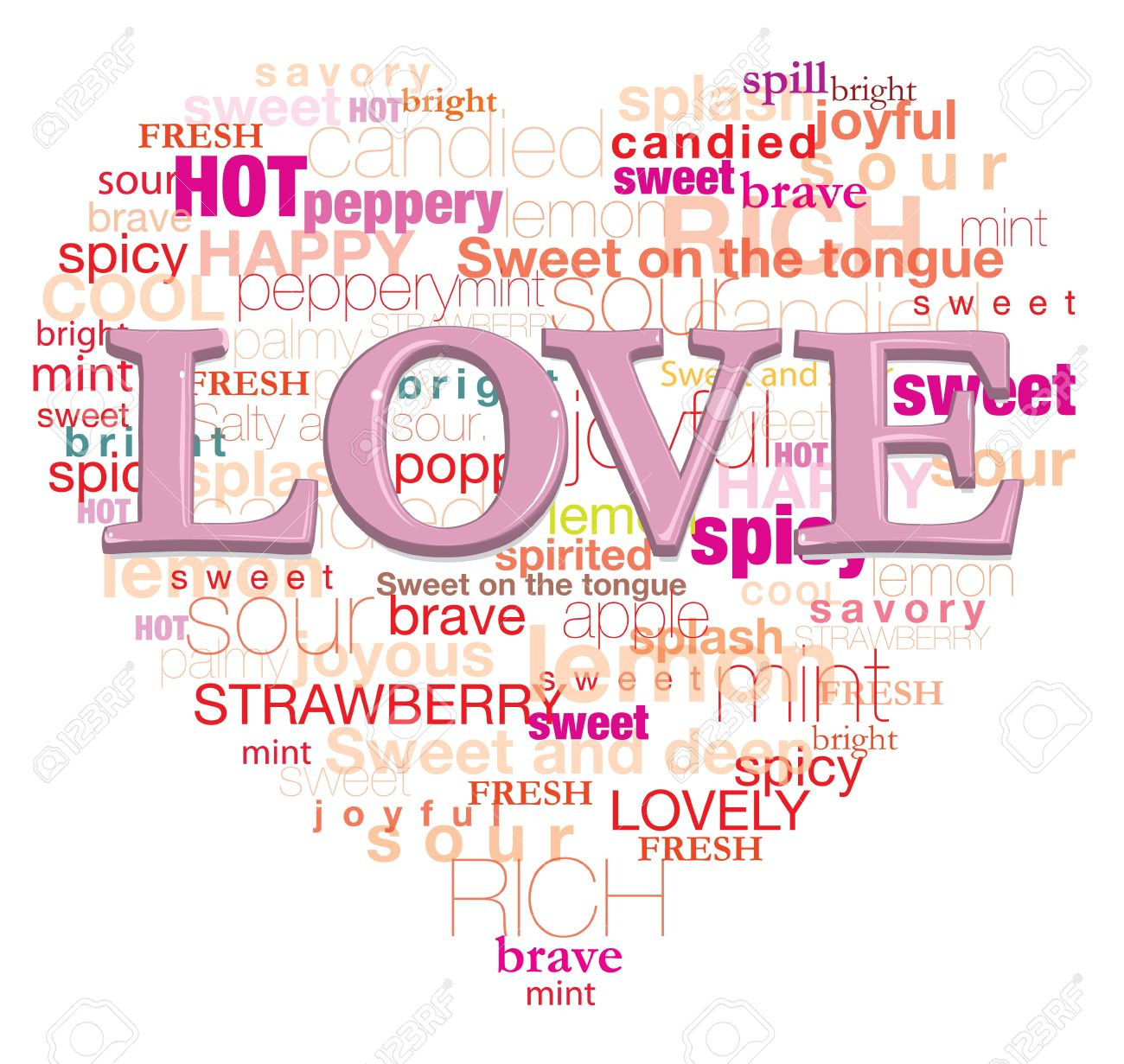 Love Is Mean This Words It S For Design Card Il Ration Graphic And Etc Stock