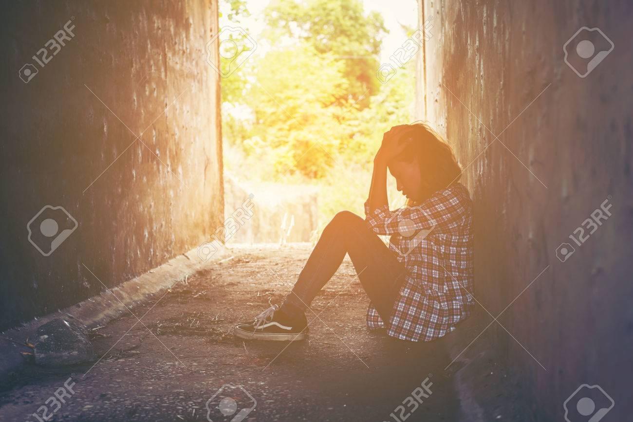 Einsam ist es hier und traurig