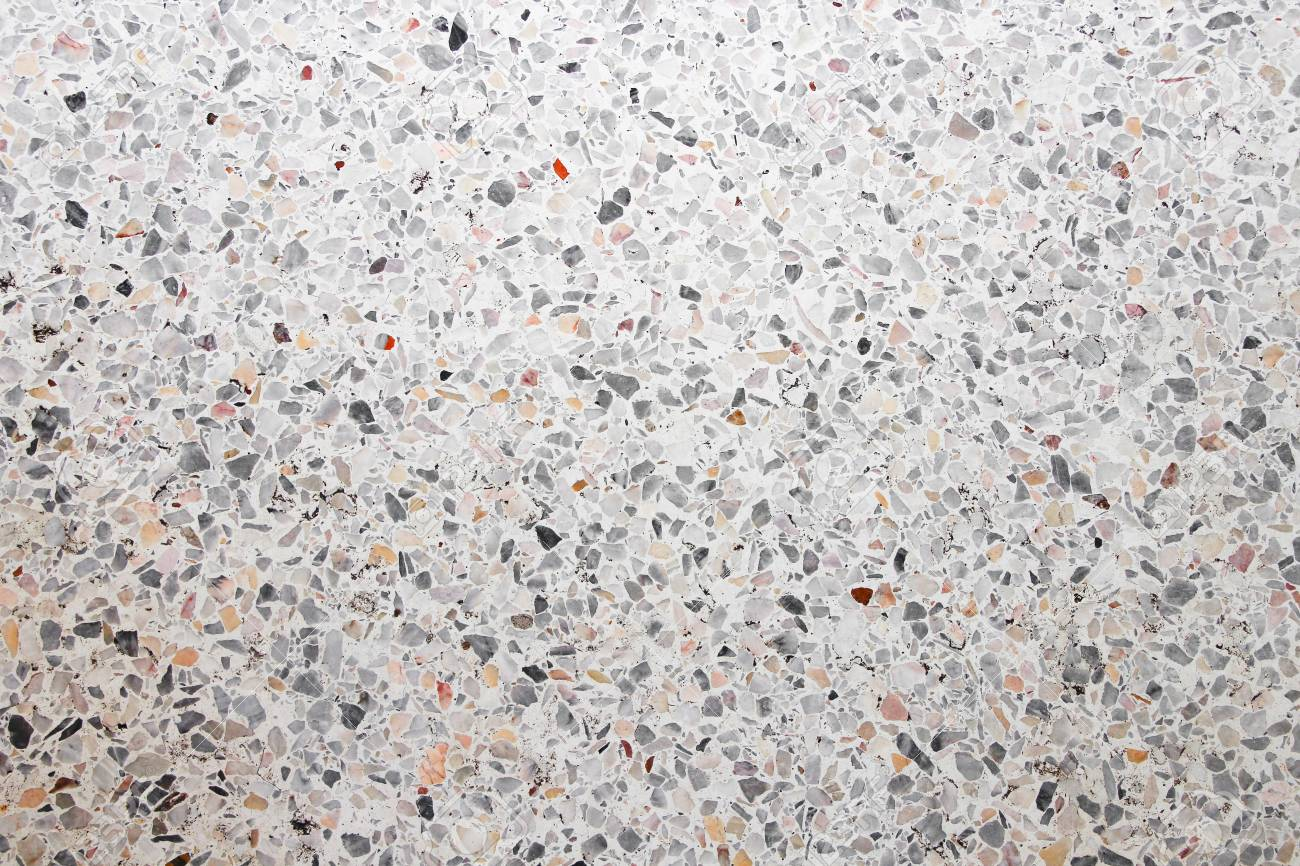 Stone TextureTerrazzo Marble Surface Floor For Background Stock