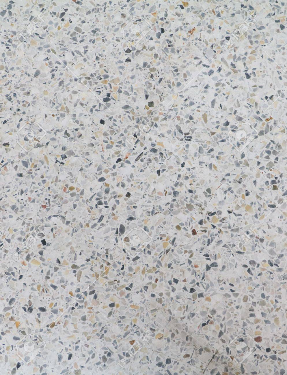 Terrazzo Floor Texture Polished Stone Pattern Wall And Color
