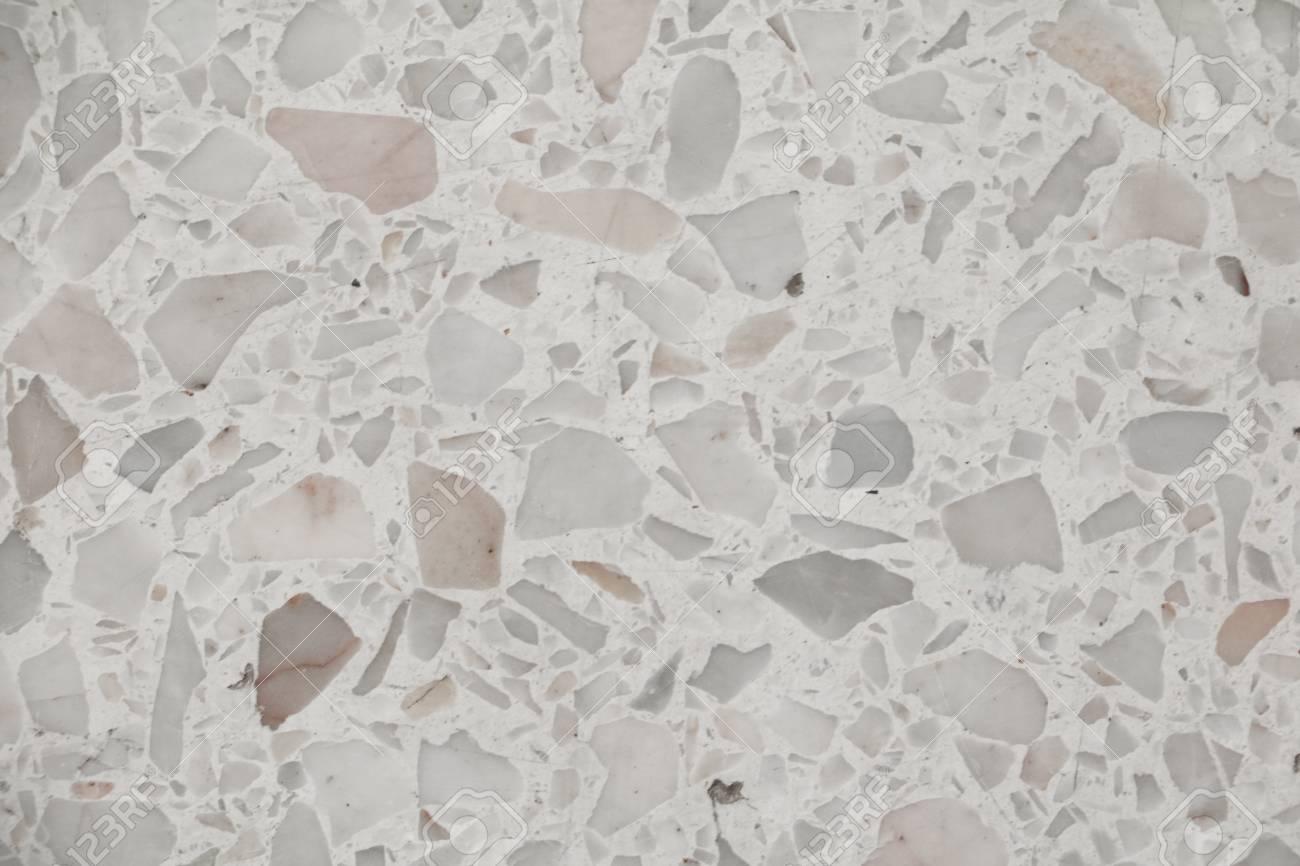 Terrazzo Boden Textur, Poliertem Stein Muster Wand Und Farbe ...