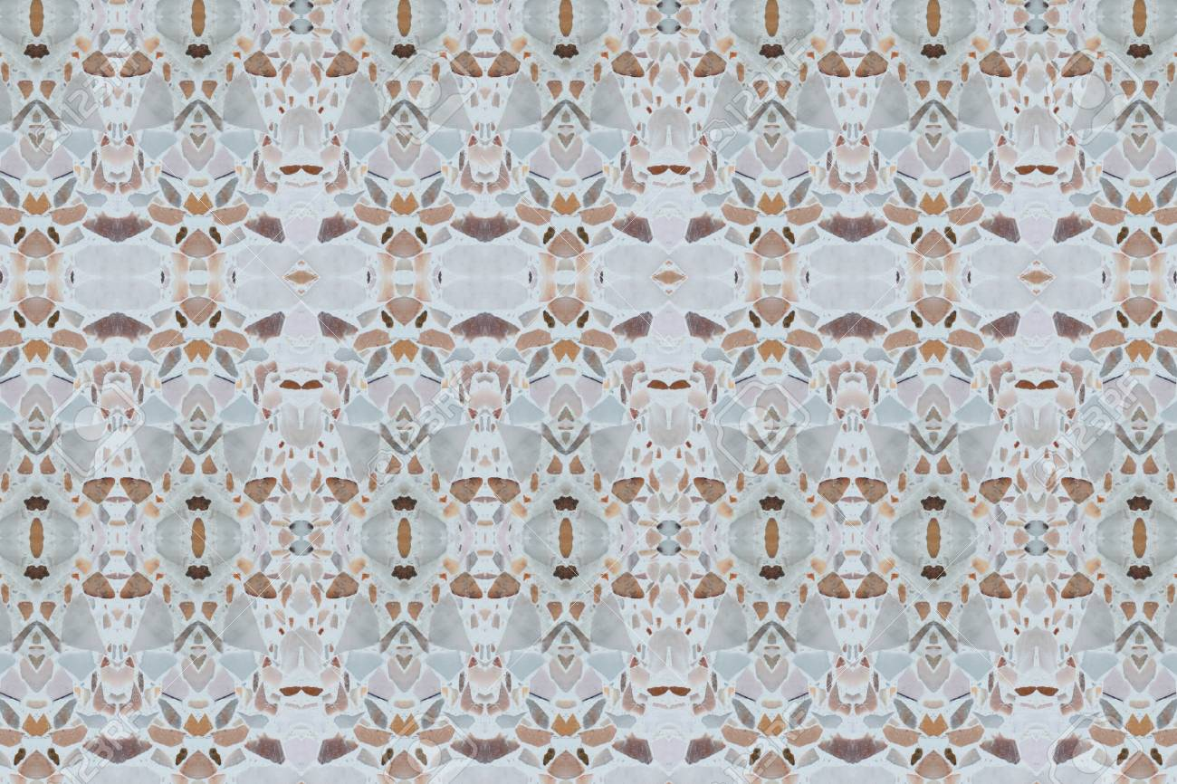 Terrazzo Floor Concrete Texture For Background Stock Photo Picture