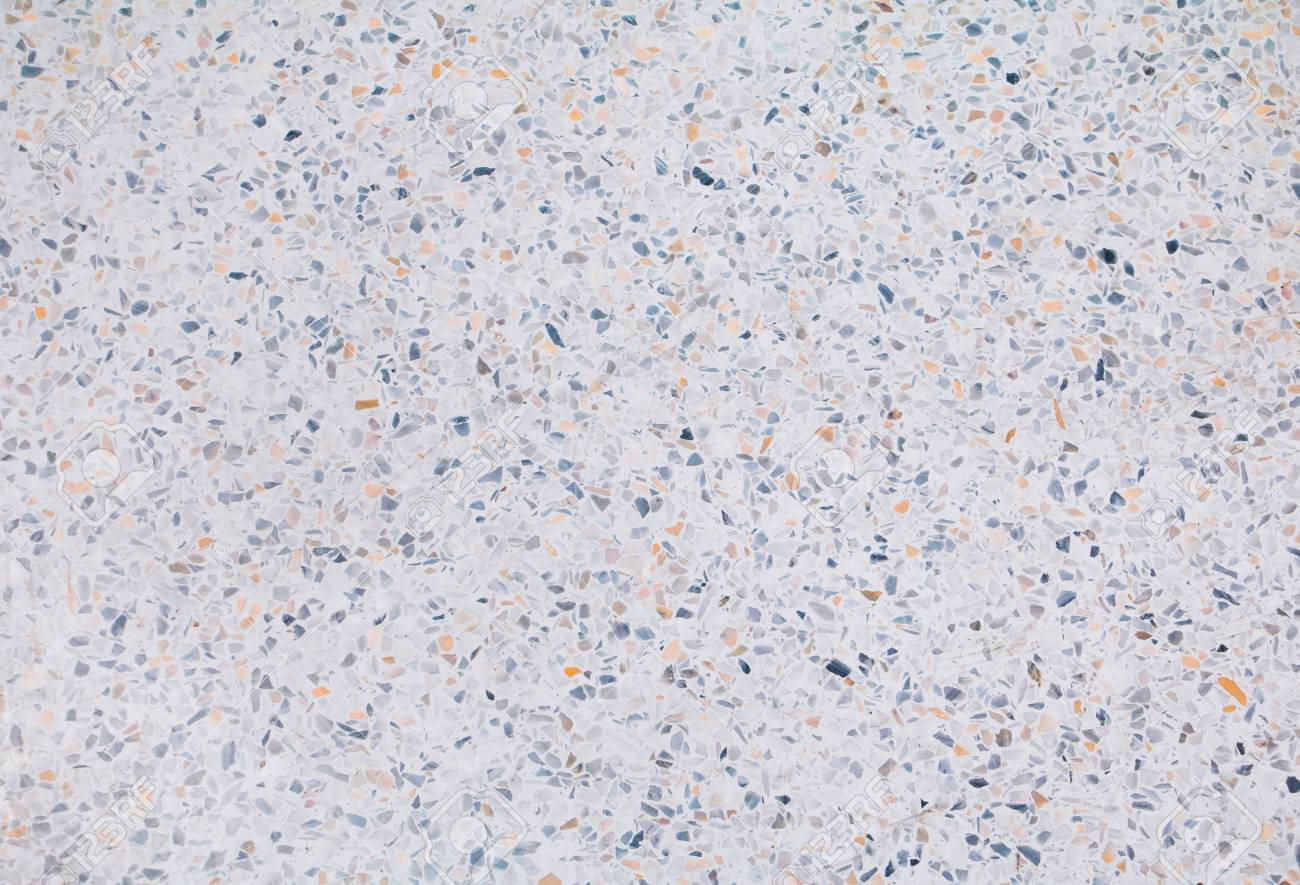 Terrazzo Flooring Or Marble Old Polished Stone Texture Beautiful