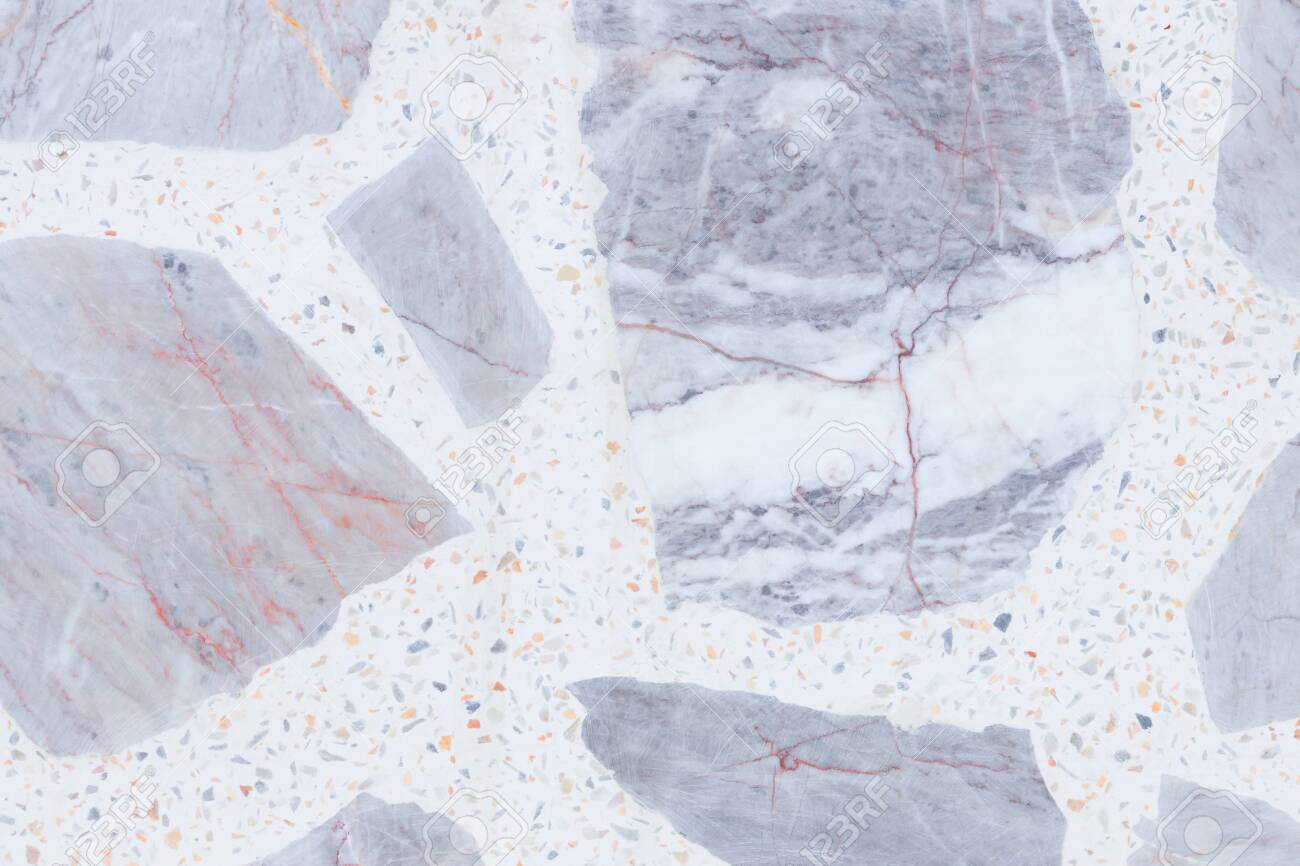 Terrazzo Flooring Or Polished Stone Pattern Wall And Color Surface