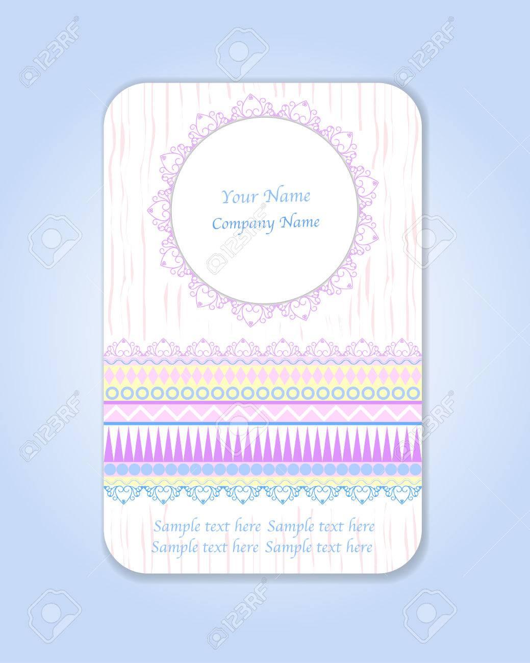 Idal Pour Le Mariage Motifs Vintages Ethnique Tribale Cartes De Visite Faites Gagner La Date Baby Shower Fte Des Mres Saint Valentin