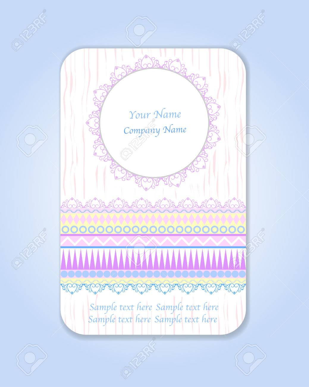 Vector design template ideal for wedding ethnic vintage patterns ideal for wedding ethnic vintage patterns tribal business cards save the date baby shower mothers day valentines day birthday cards invitations stopboris Choice Image