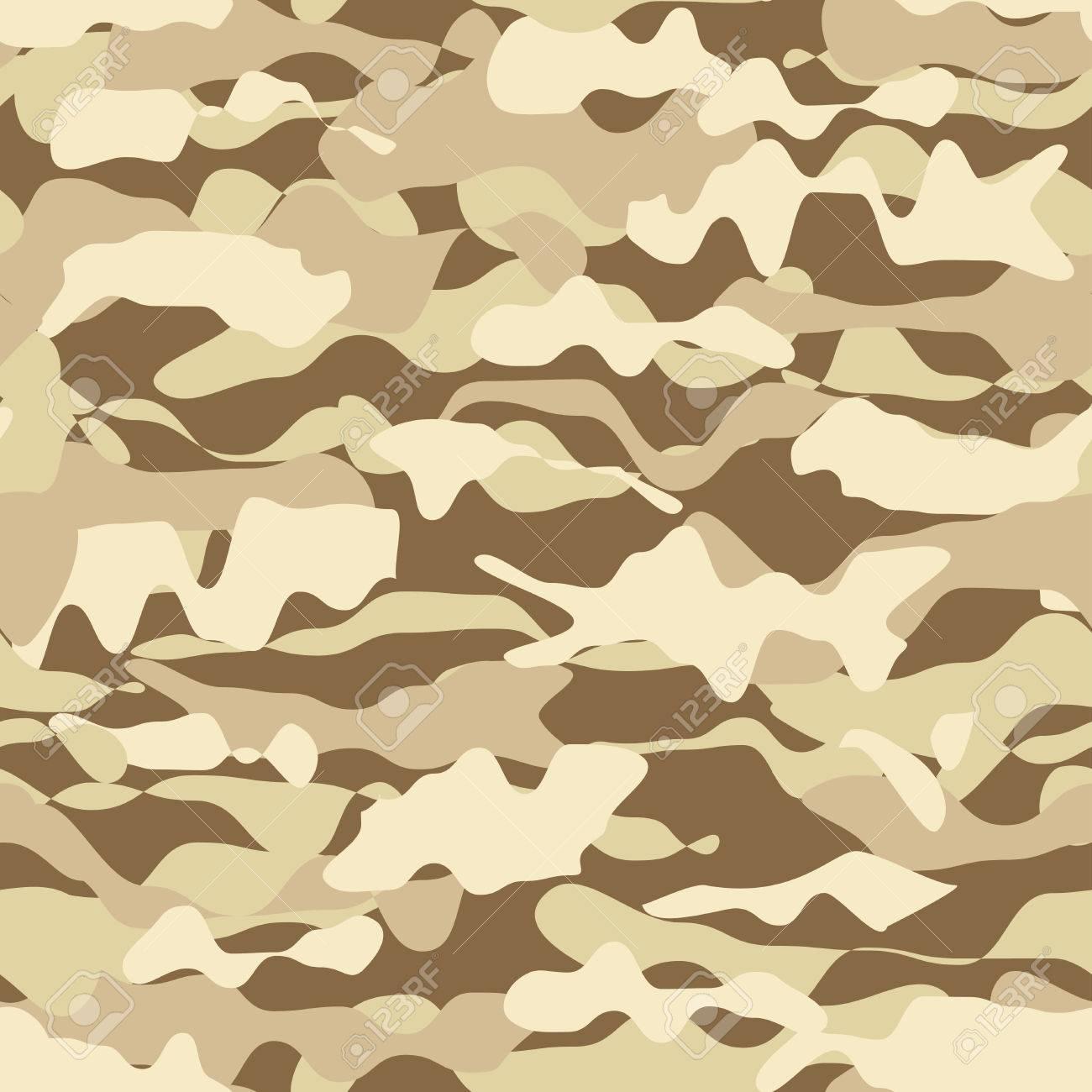 Armee Tarnung Nahtlose Muster Schwarz Und 1