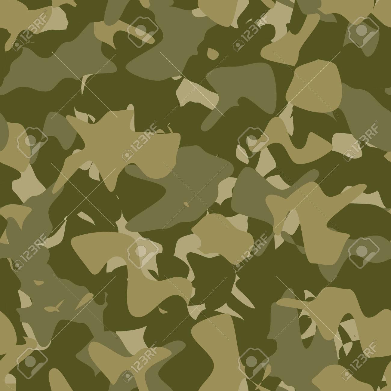 Militarische Mode Nahtlose Muster Armee Muster